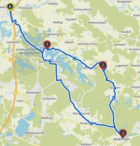 Radtour Scharzenfeld-Bodenwör