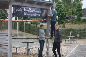 PZT / PGE 2018 Aufbau Schulhof